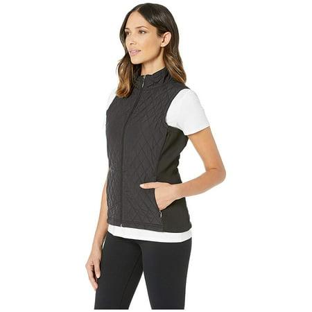 Straight Down Laurel Vest Black