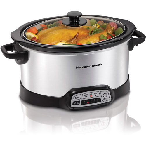 Hamilton Beach 6-Quart Programmable Slow Cooker | Model# 33463