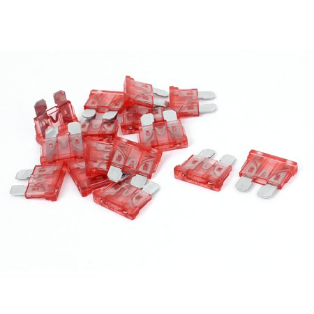15Pcs 40A Plastic Housing Motorcycle Car SUV ATC ATO Mini Blade Fuse Red - image 1 de 1