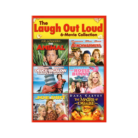 The Animal / The Benchwarmers / Deuce Bigalow: European Gigolo / The House Bunny / Joe Dirt / The Master of Disguise (DVD)
