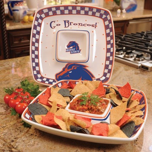 The Memory Company Boise State Gameday Chip and Dip