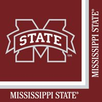 Pack of 240 NCAA Mississippi State Bulldogs 2-Ply Tailgating Party Lunch Napkins