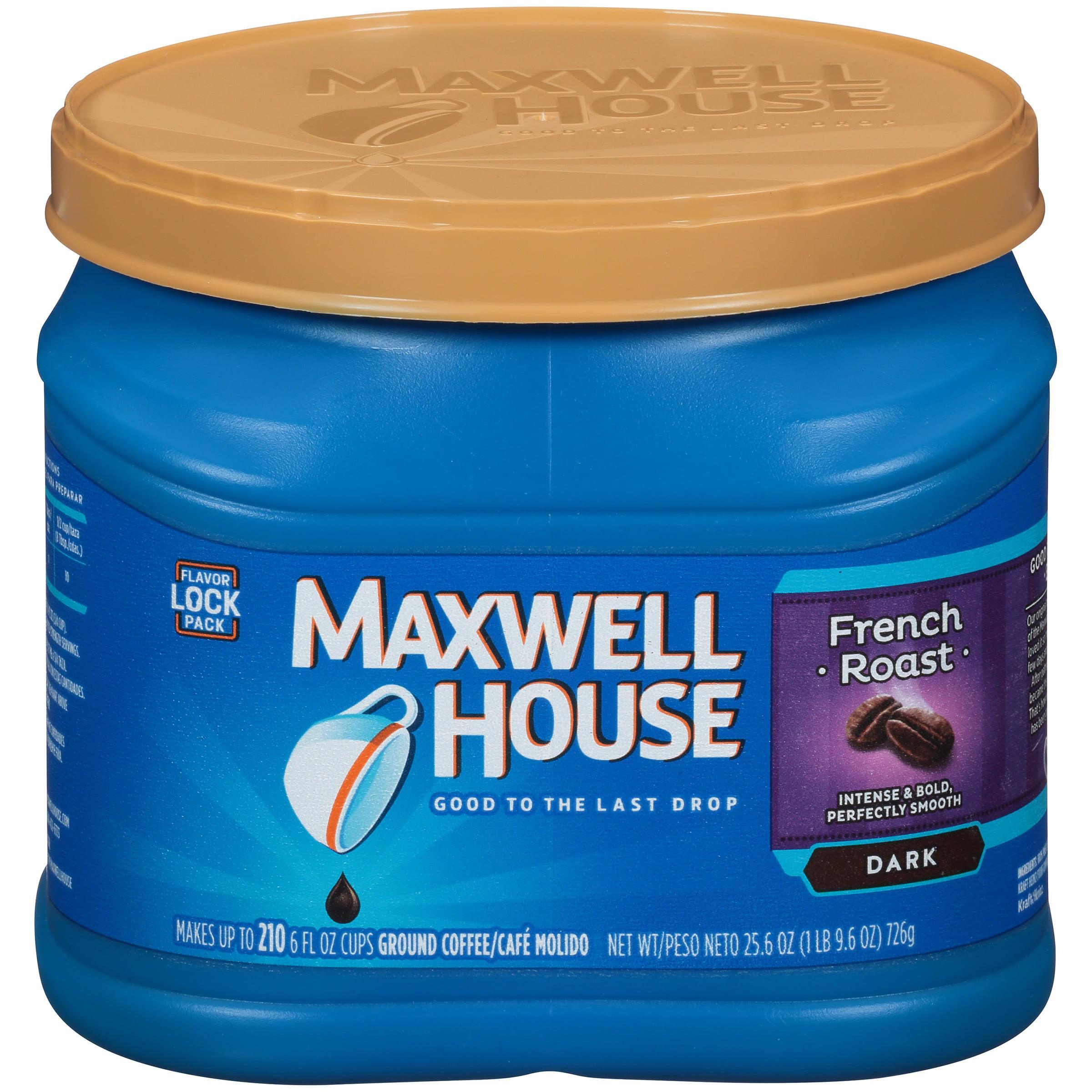 Maxwell House Half Caff Ground Coffee 25.6 oz. Tub - Walmart.com