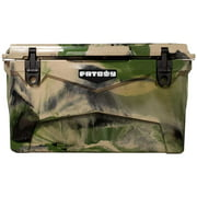 Fatboy 45 Quart Roto Molded Hard Sided Cooler Army Camo