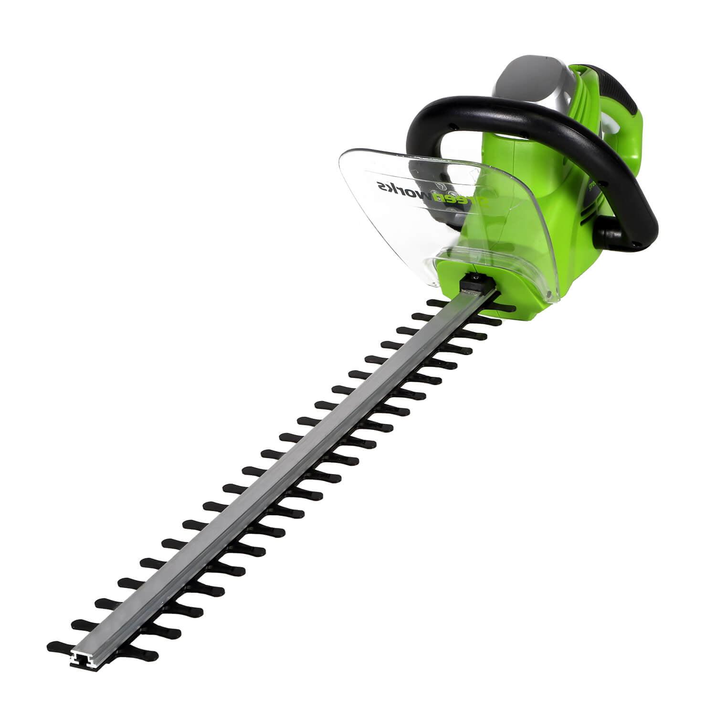 Greenworks 22-Inch 4A Corded Rotating Hedge Trimmer 2200102 by Sunrise Global Marketing, LLC