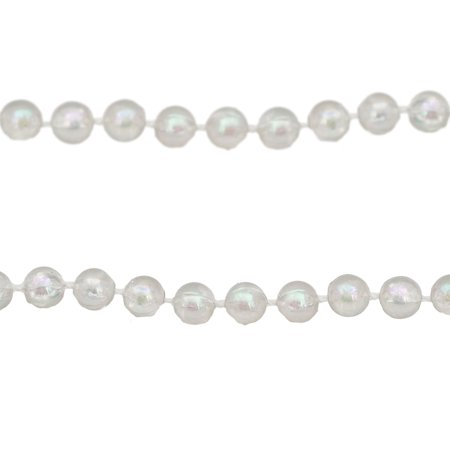 Garland Commercial Range (100' Christmas Traditions Clear Iridescent Beaded Christmas Garland - Commercial)