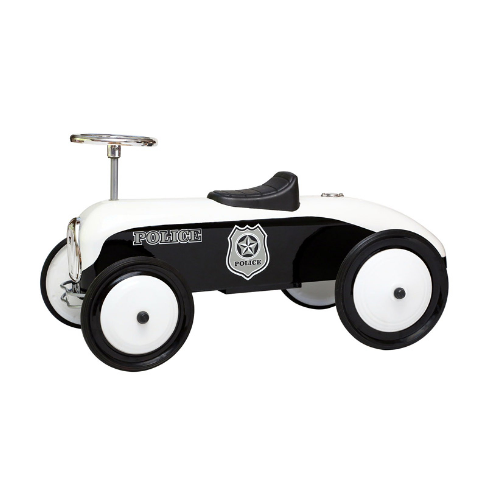 Morgan Cycle Police Car Ride-On Riding Push Toy