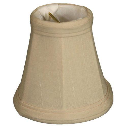 Alcott Hill 3.5'' Silk Bell Candelabra Shade (Set of 6)