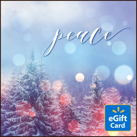 Quiet Peace Walmart eGift (Peace Square Card)
