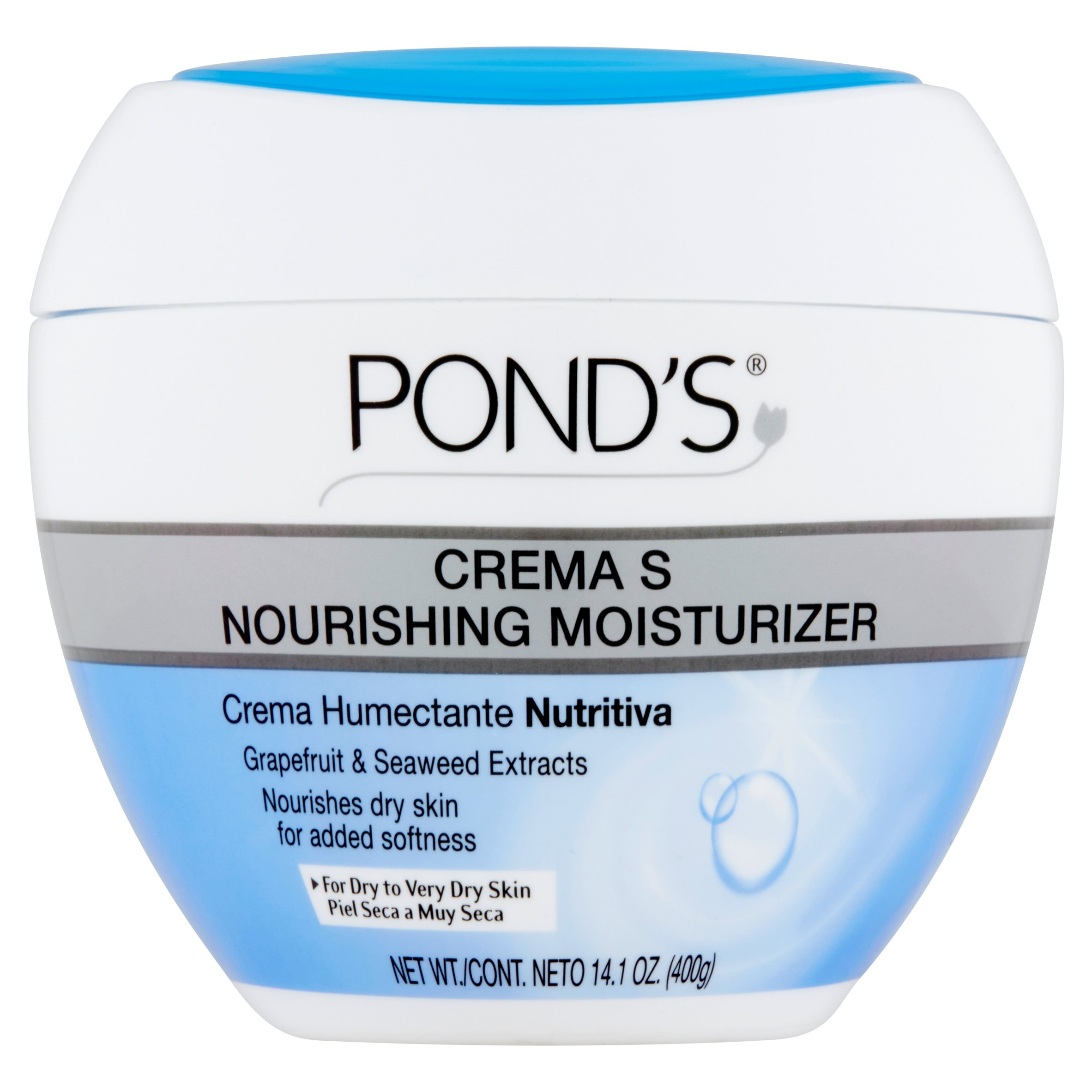 Pond's Crema S Nourishing Moisturizing Cream 14.1 oz by Pond Equipment