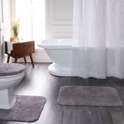 Mainstays Basic Polyester Bath Rug Collection