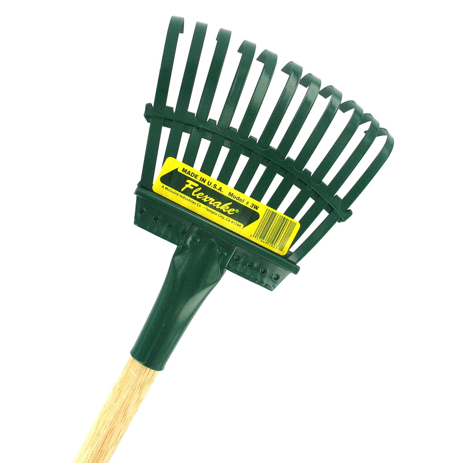 Flexrake 3W 48 in. Handle 8 in. Steel Head Shrub Rake