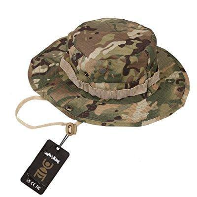 8c4cde939d3 ... antwalking boonie bucket hat military fishing camping hunting wide brim  bucket men outdoor sun-shading