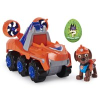 PAW Patrol, Dino Rescue Zumas Deluxe Rev Up Vehicle with Mystery Dinosaur Figure