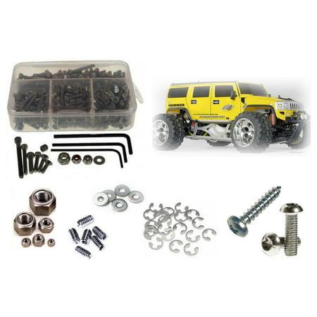 RC Screwz Stainless Steel Screw Kit for FG Monster/Stadium Truck #fg006 (Rc Screw Kits)
