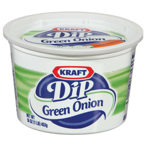 Kraft Dips Green Onion Dip, 16 oz