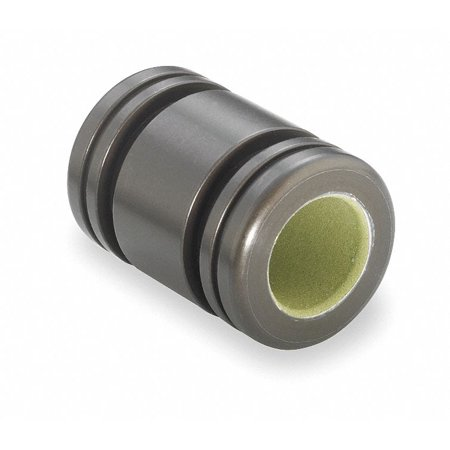 Plain Bushing Bearing,Closed,ID 0.375 In