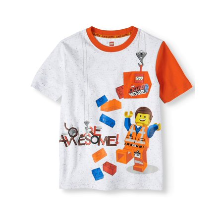 Movie Short Sleeve Character Pocket Tee (Little Boys & Big Boys)