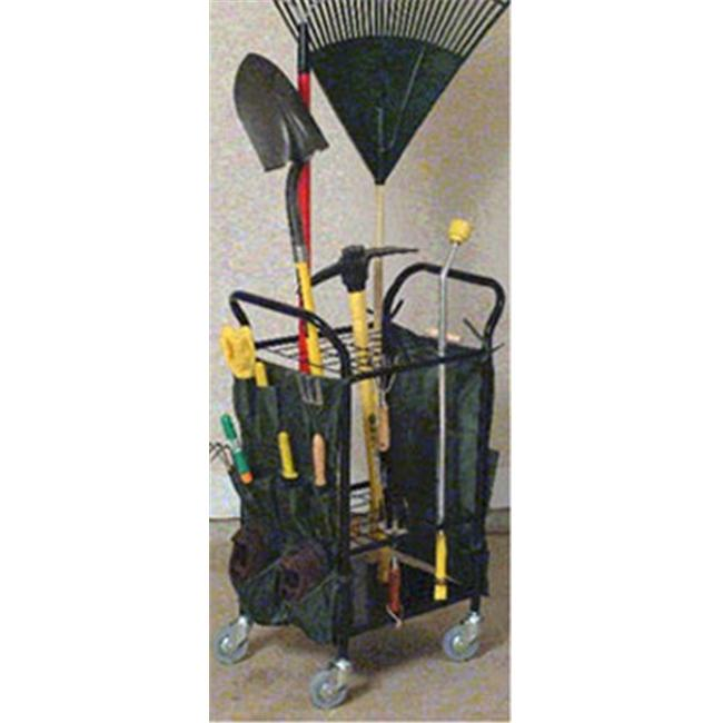 JJ International S9428 Garden Tool Caddy with Casters