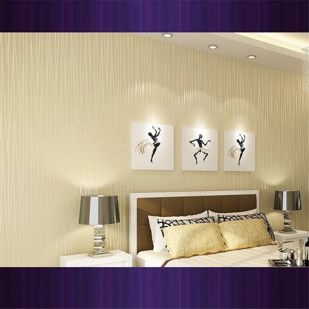 LeKing Simple striped non-woven wallpaper - image 4 of 6