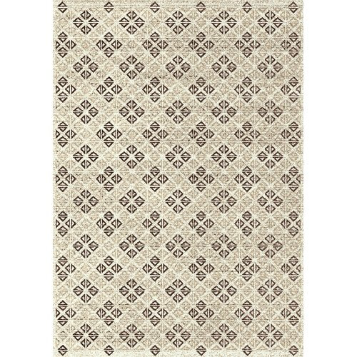 Kalora Breeze Diamond Cream Area Rug