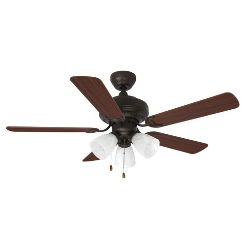"Mainstays 44"" Ceiling Fan with Light Kit  17776"