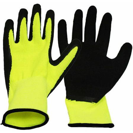 - Boss Gloves Large Neon Work Gloves