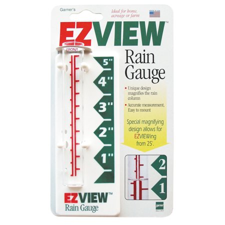 Plastic Rain Gauges - EZ View Rain Gauge
