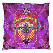 Jefferson Airplane Take Off Throw Pillow White 18X18