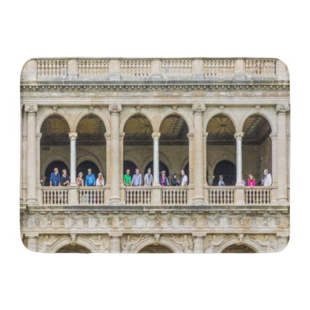 GODPOK Newport Ri USA Sep 23 The Breakers is Old Vanderbilt Mansion Located on Ochre Point Avenue Open to Public Rug Doormat Bath Mat 23.6x15.7