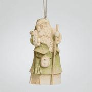 Enesco Foundations 4041264 Irish Santa Ornament NEW 2014