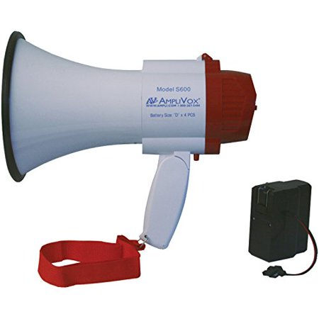 Amplivox SB600R Mini-Meg 10-Watt Megaphone (Bundled with Rechargeable Battery)](Megaphone Mini)