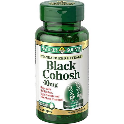 Black cohosh supplements