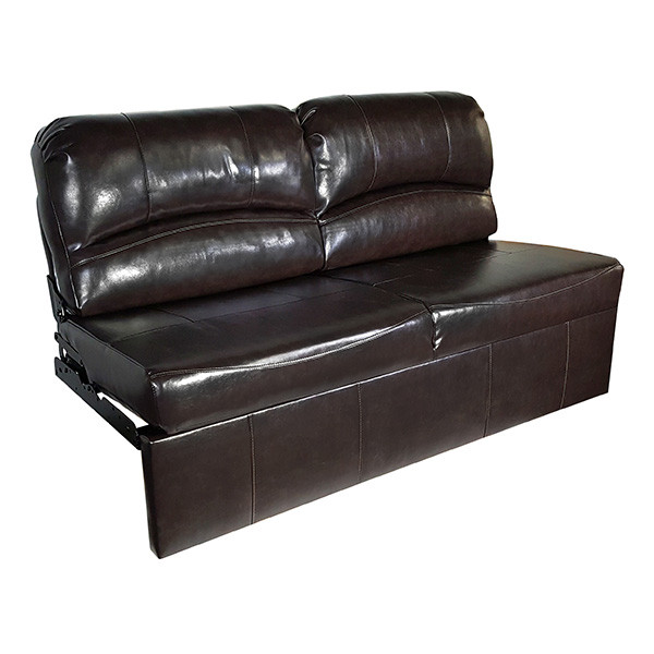 "RecPro Charles 70"" Jack Knife RV Sleeper Sofa w out Arms Espresso RV Furniture Walmart"