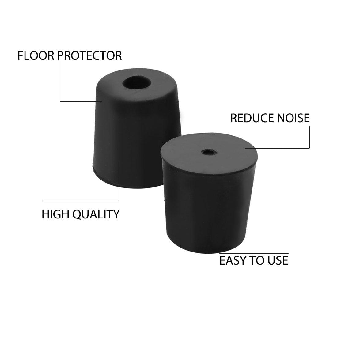 16pcs Rubber Feet Bumper Amplifier Air Compressor Cabinet Leg Pads, D33x28xH33mm - image 2 of 7