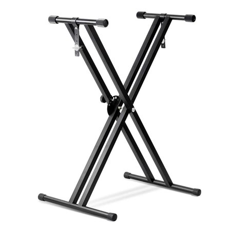 PrimeCables Double X Keyboard Stand Heavy Duty Classic Music Musical Electronic Piano Stands - image 4 of 4