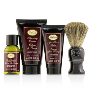 The Perfect Shave Carry on Kit - Sandalwood