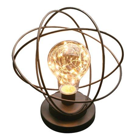 Elinchrom Modelling Lamp (Table Lamp - Atomic Age LED Metal Accent Light - Neils Bohr Atomic)