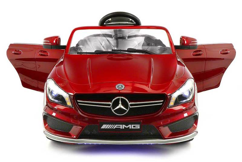 2018 Licensed Mercedes AMG 12V Battery Ride on Toy Car w  Dining Table, LED Lights,... by