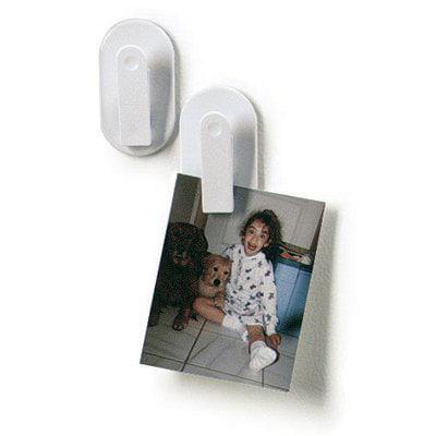 White Adhesive Plastic Memo -