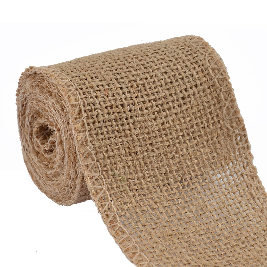 Wedding Jute Belt String Packing Strap Craft Burlap Ribbon Roll Ecru 2.2 Yard