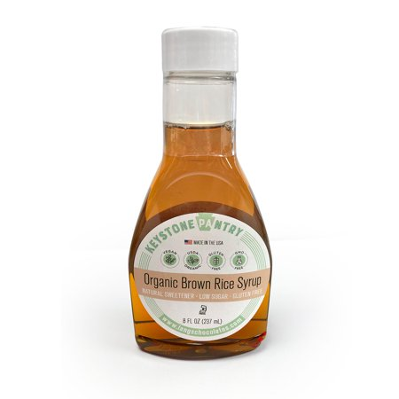 Keystone Pantry Organic Brown Rice Syrup 8 fl oz Bottle (Sap To Syrup)