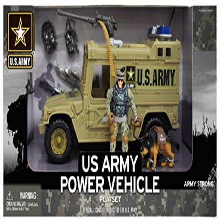 U.S. Army Figure Playset w/ - Toy Army Guns