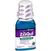 Vicks® ZzzQuil™ Soothing Mango Berry Alcohol Free Nighttime Sleep-Aid Liquid 6 fl. oz. Bottle
