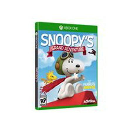 The Peanuts Movie Snoopy's Grand Adventure - Xbox - Halloween Adventure Map Xbox