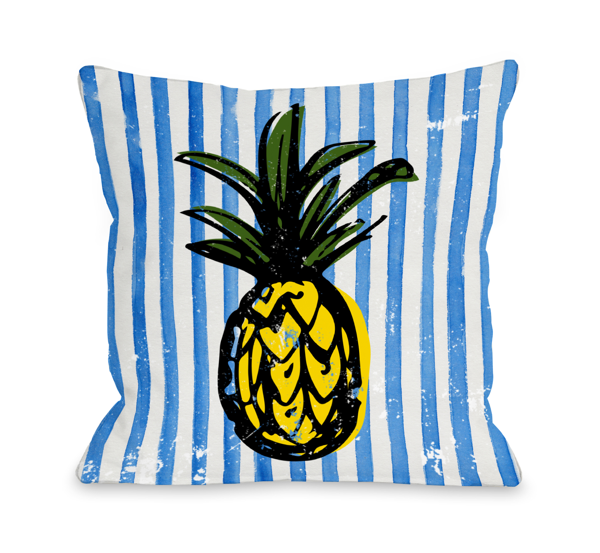 Fineapple - Blue Multi 16x16 Pillow by OBC