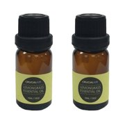 Crucial Soothing Lemongrass Infused Essential Oils for Aromatherapy (Set of 2)