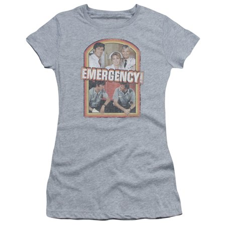 Retro Girls (Trevco EMERGENCY RETRO CAST Athletic Heather Juniors Female)