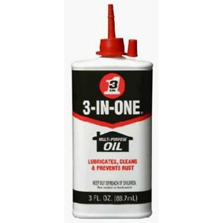 3 In One 3 OZ Multi-Purpose Oil 4PK (3 In 1 Oil)