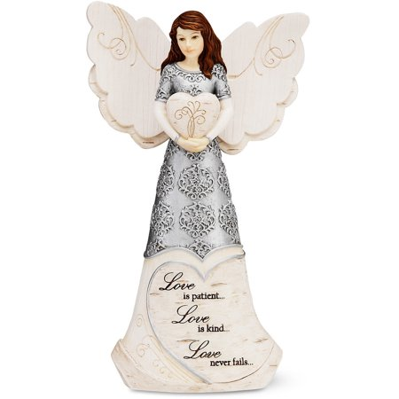 Pavilion Gift Company 82302 Love Angel Holding Heart